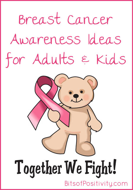 Breast Cancer Awareness Ideas for Adults and Kids