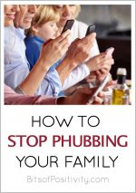 How to Stop Phubbing Your Family
