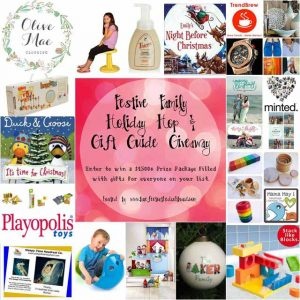 2015 Festive Family Holiday Hop and Gift Guide Giveaway