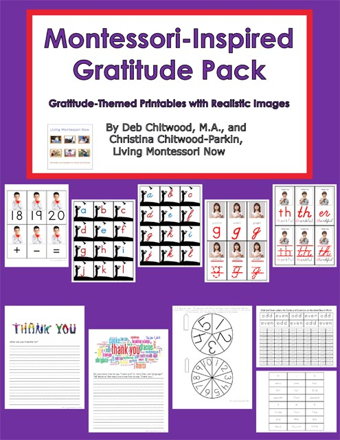 Montessori-Inspired Gratitude Pack