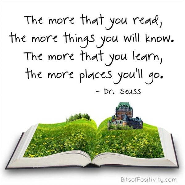 """The More That You Read"" Dr. Seuss Inspired Word Art Freebie"