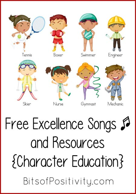 Free Excellence Songs and Resources