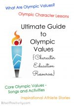 Ultimate Guide to Olympic Values {Free Character Education Resources}