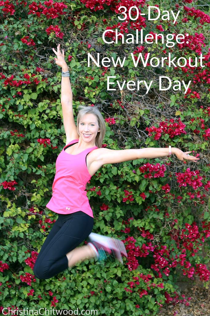 30-Day Challenge: New Workout Every Day from ChristinaChitwood.com