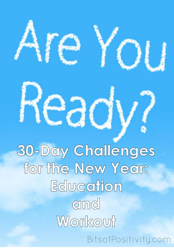 30-Day Challenges for the New Year: Education and Workout
