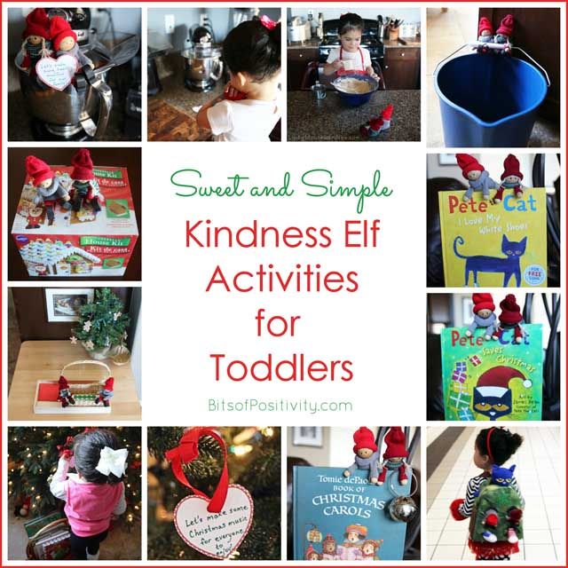 Sweet and Simple Kindness Elf Activities for Toddlers