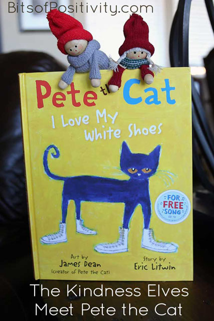 The Kindness Elves Meet Pete the Cat