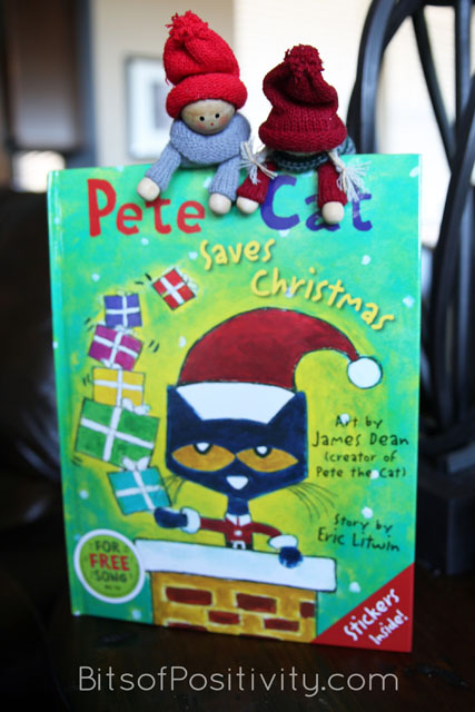 "The Kindness Elves: ""Let's go to the food and toy drive with Pete the Cat and give it our all!"""