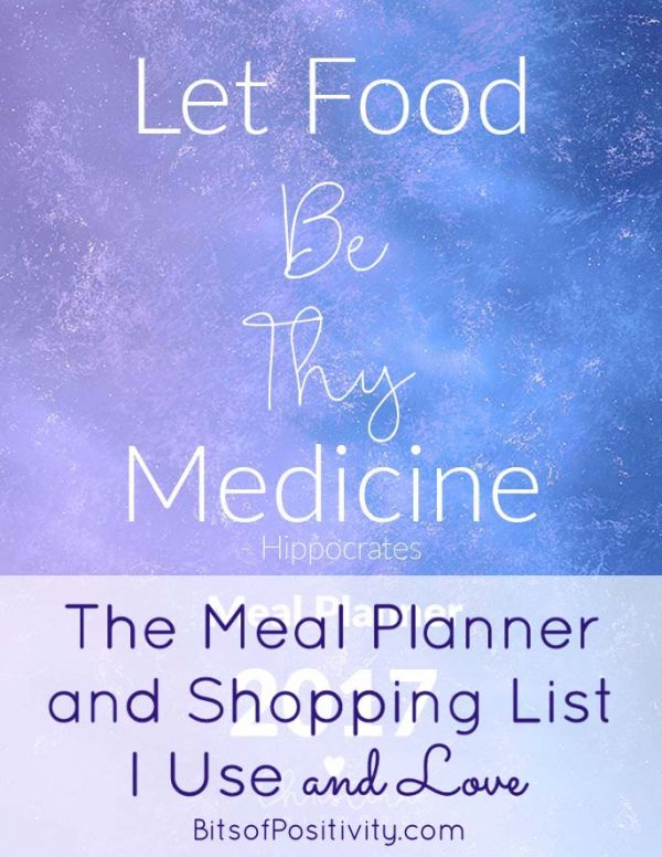 The Meal Planner and Shopping List I Use and Love