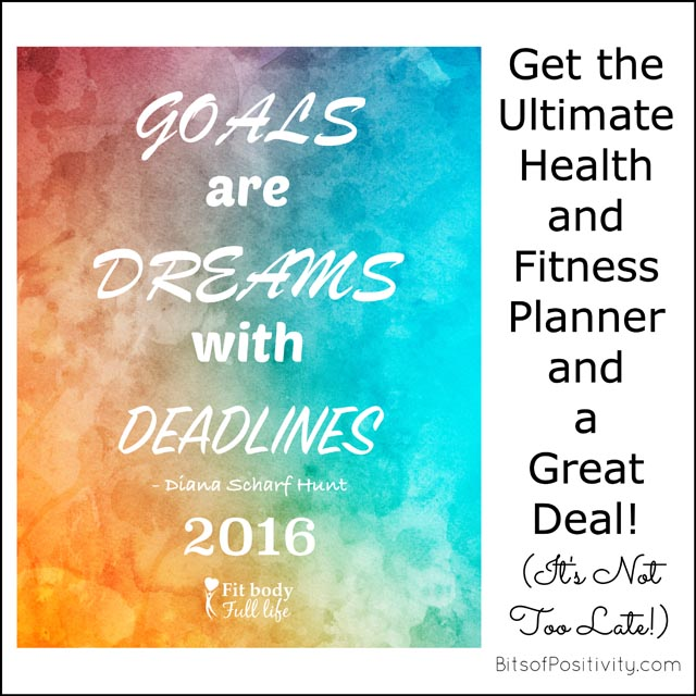 Get the Ultimate Health and Fitness Planner and a Great Deal