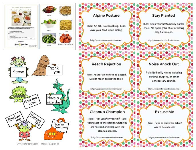 This is a picture of Challenger Free Printable Manners Worksheets