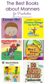 The Best Books about Manners for Preschoolers