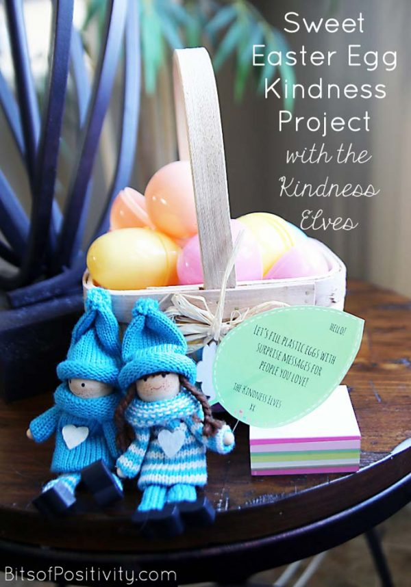 Sweet Easter Egg Kindness Project with the Kindness Elves