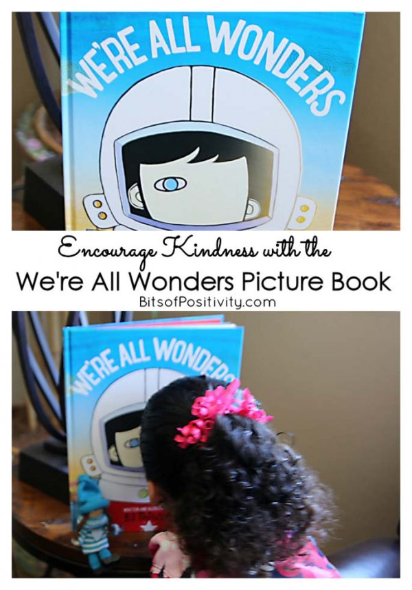 Encourage Kindness with the We're All Wonders Picture Book