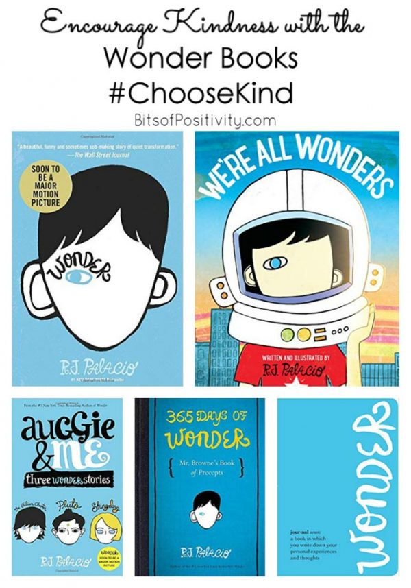 Encourage Kindness with the Wonder Books #ChooseKind + $1500 Cash Giveaway!