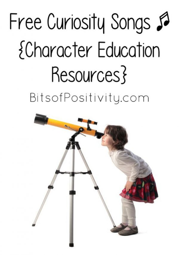 Free Curiosity Songs {Character Education Resources}