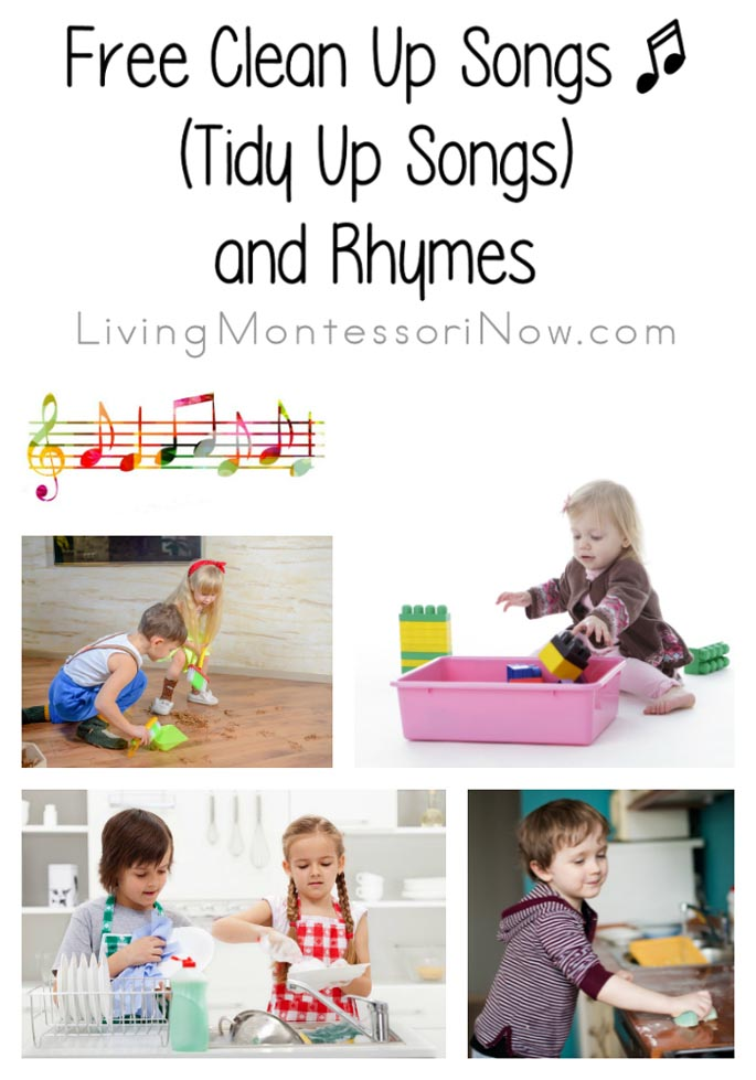 Free Clean Up Songs (Tidy Up Songs) and Rhymes