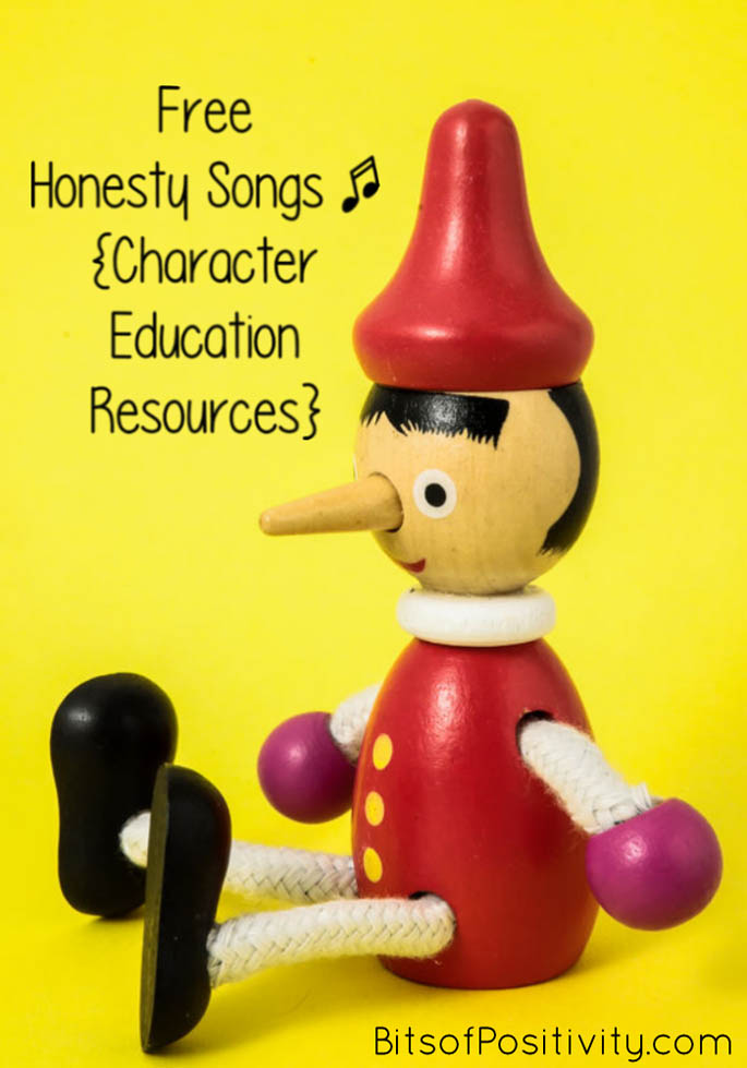 Free Honesty Songs {Character Education Resources}