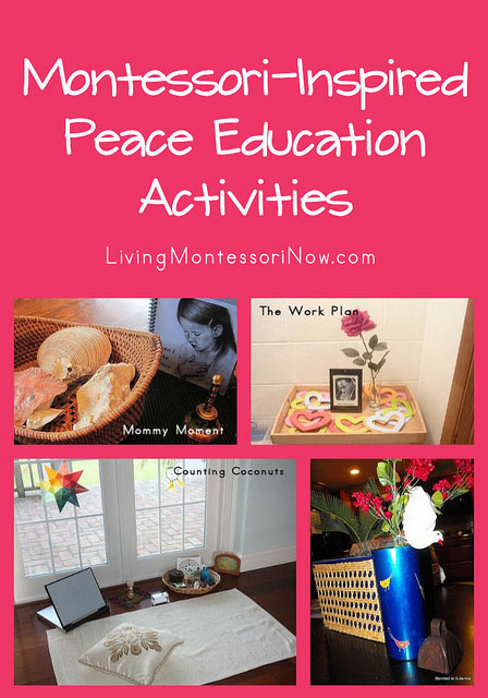 Montessori-Inspired Peace Education Activities