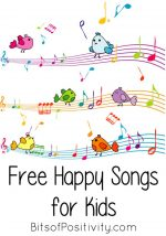 Free Happy Songs for Kids {Contentment, Cheerfulness, Joyfulness Resources}
