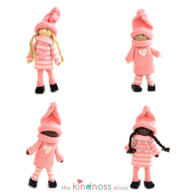 Pink Kindness Elves