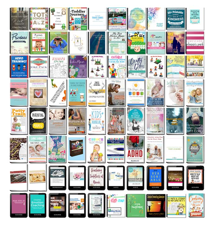 Parenting Super Bundle (Over $1270 of Resources for Less Than $30!)