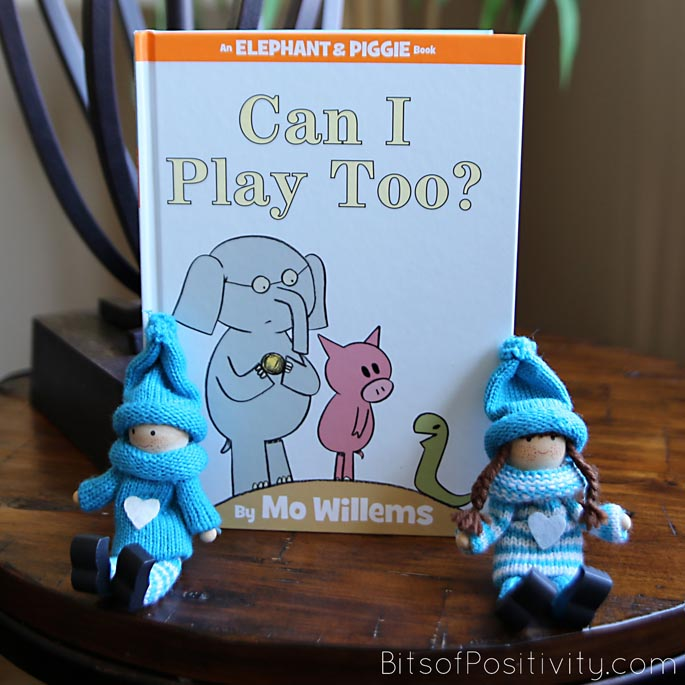 Can I Play Too? Picture Book with the Kindness Elves
