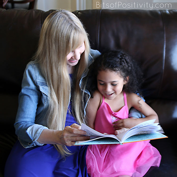 Grandma and Granddaughter Having Fun with Our Favorite Book about Inclusion and Friendship