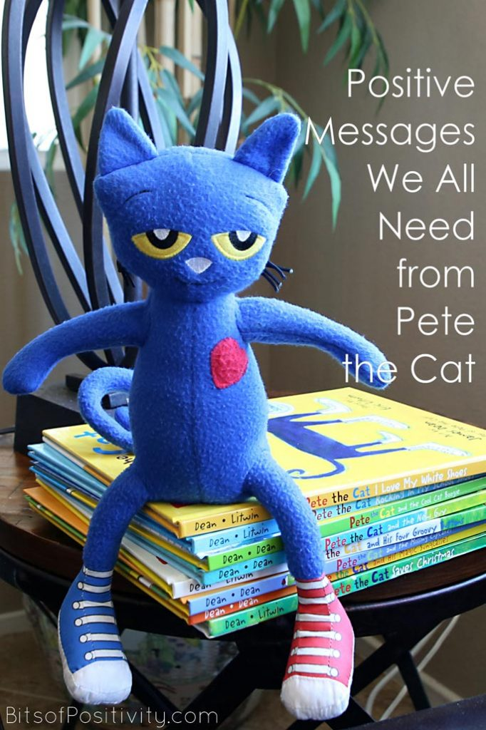 Pete The Cat Christmas.Positive Messages We All Need From Pete The Cat Bits Of