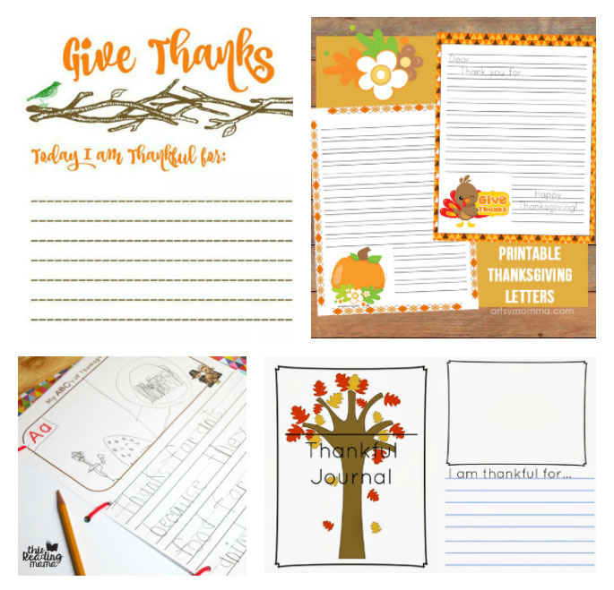 graphic about I Am Thankful for Printable named 30+ Cost-free Thanksgiving Graude Printables for Little ones - Bits