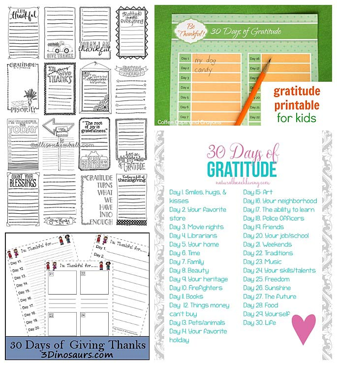 Free Year-Round Gratitude Printables for Kids -2