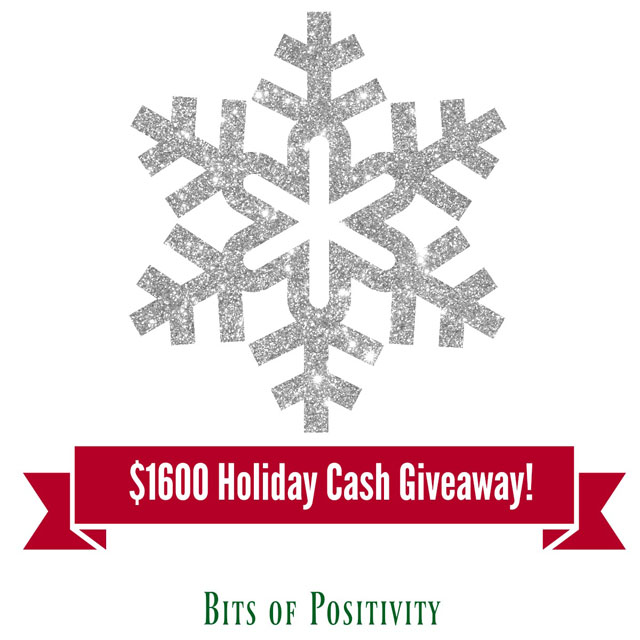 $1600 Holiday Cash Giveaway! WW Ends 12/22