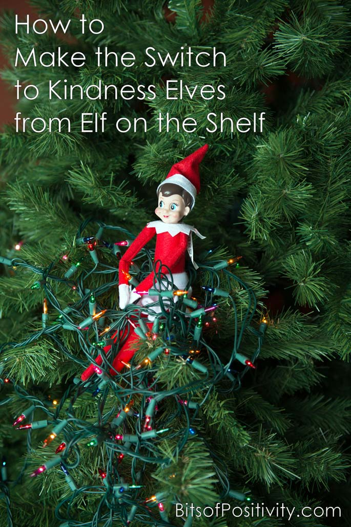 How to Make the Switch to Kindness Elves from Elf on the Shelf