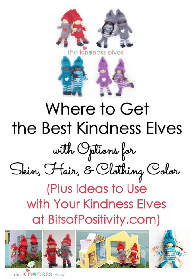 Where to Get the Best Kindness Elves with Options for Skin, Hair, & Clothing Color