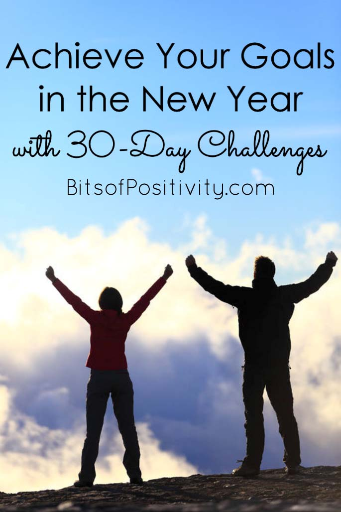 Achieve Your Goals in the New Year with 30-Day Challenges