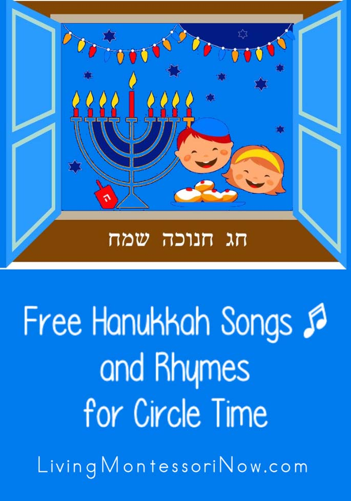 Free Hanukkah Songs and Rhymes for Circle Time