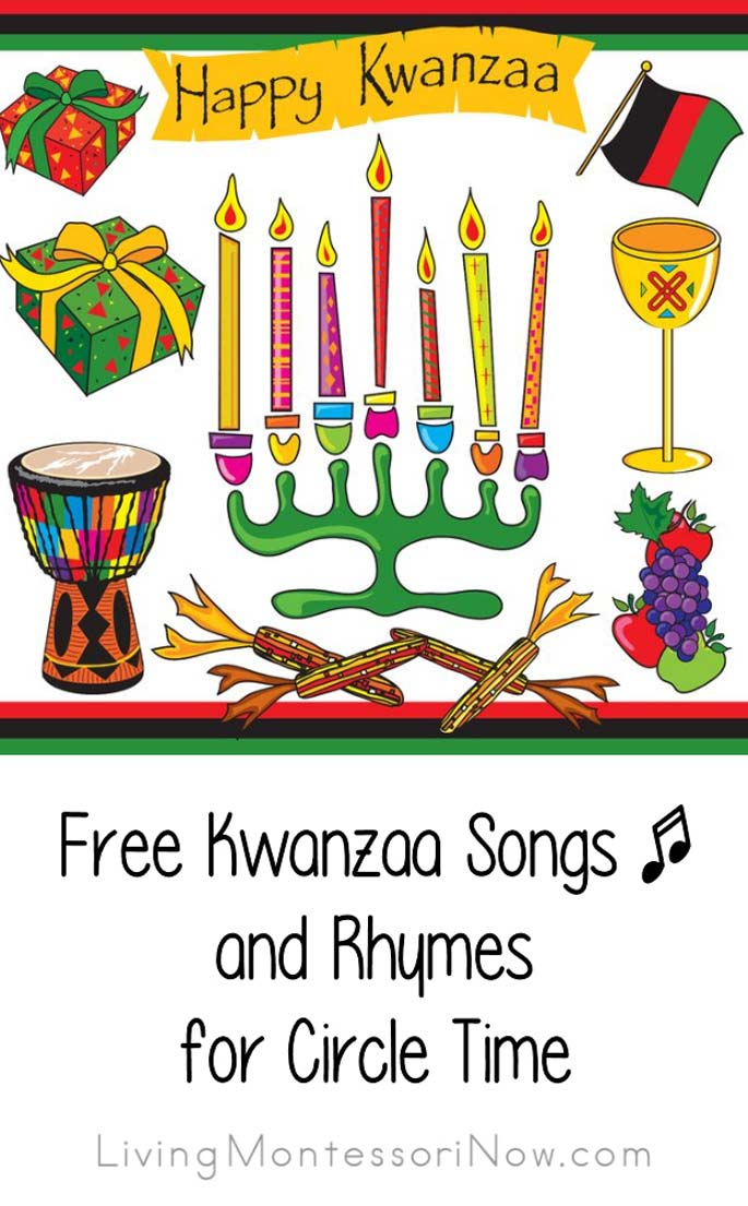 Free Kwanzaa Songs and Rhymes for Circle Times