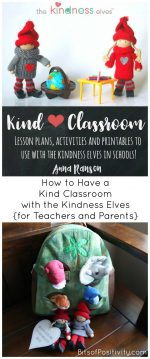 How to Have a Kind Classroom with the Kindness Elves {for Teachers and Parents}