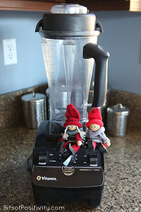 "The Kindness Elves: ""Let's make super-healthy fruit smoothies for our family!"""