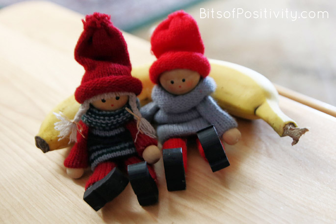 "The Kindness Elves: ""Let's share a snack with Grandpa!"""