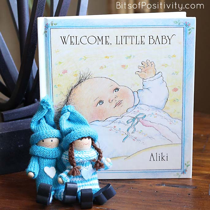 Using Kindness Elves for a Creative Gender Reveal - It's a Boy