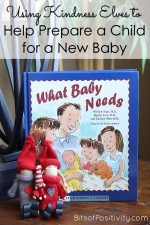 Using Kindness Elves to Help Prepare a Child for a New Baby
