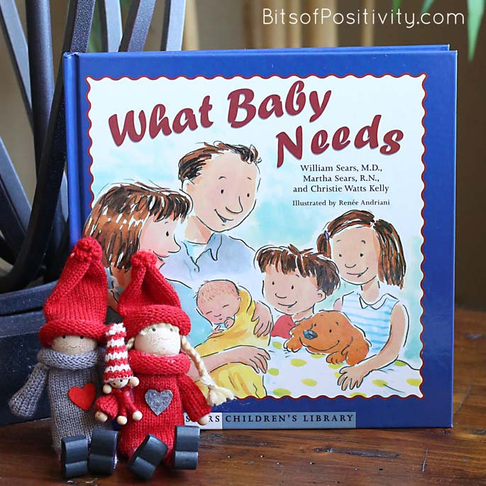 Using Kindness Elves with Little Baby Elf to Help Prepare a Child for a New Baby