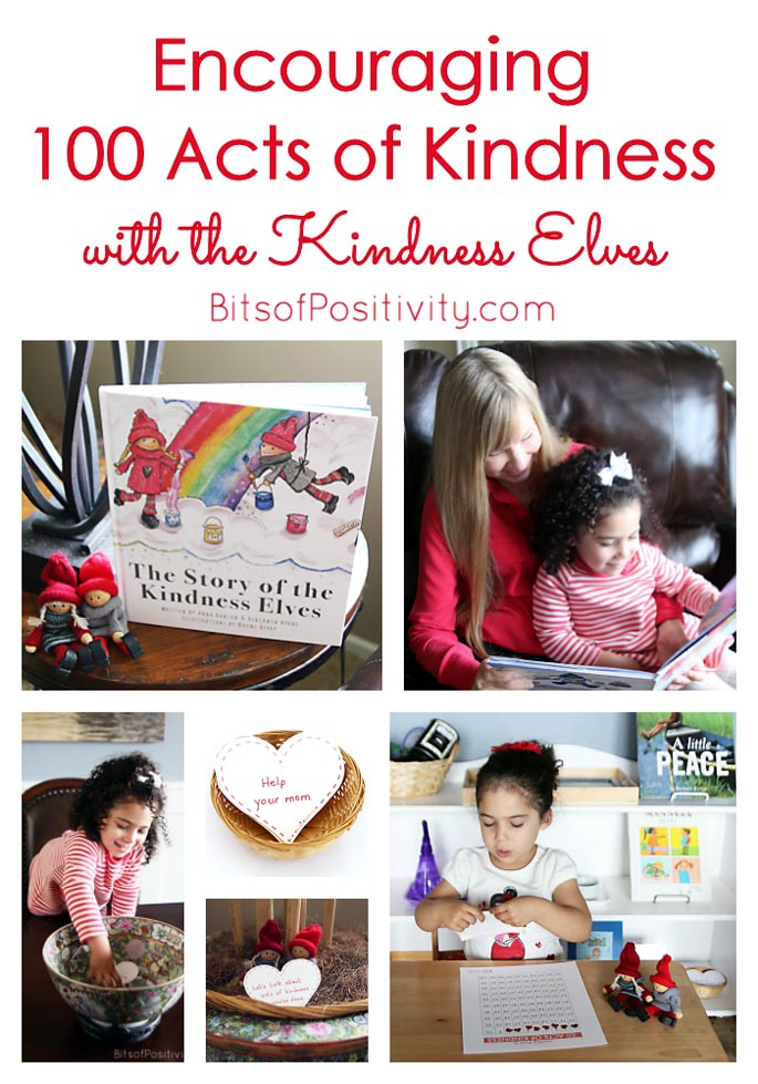 Encouraging 100 Acts of Kindness with the Kindness Elves