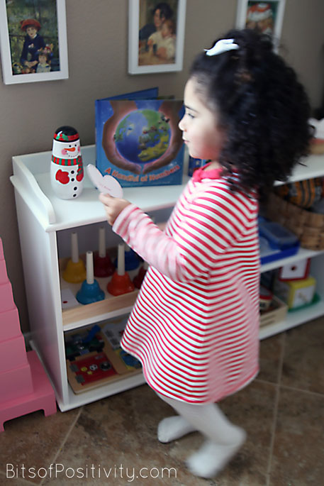 Finding an Act of Kindness Heart on the Shelf