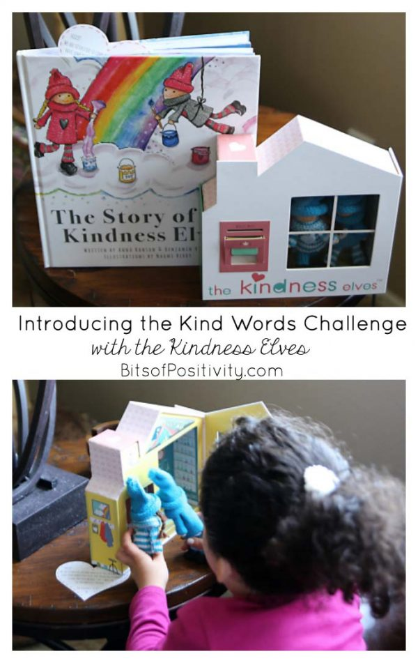 Introducing the Kind Words Challenge with the Kindness Elves