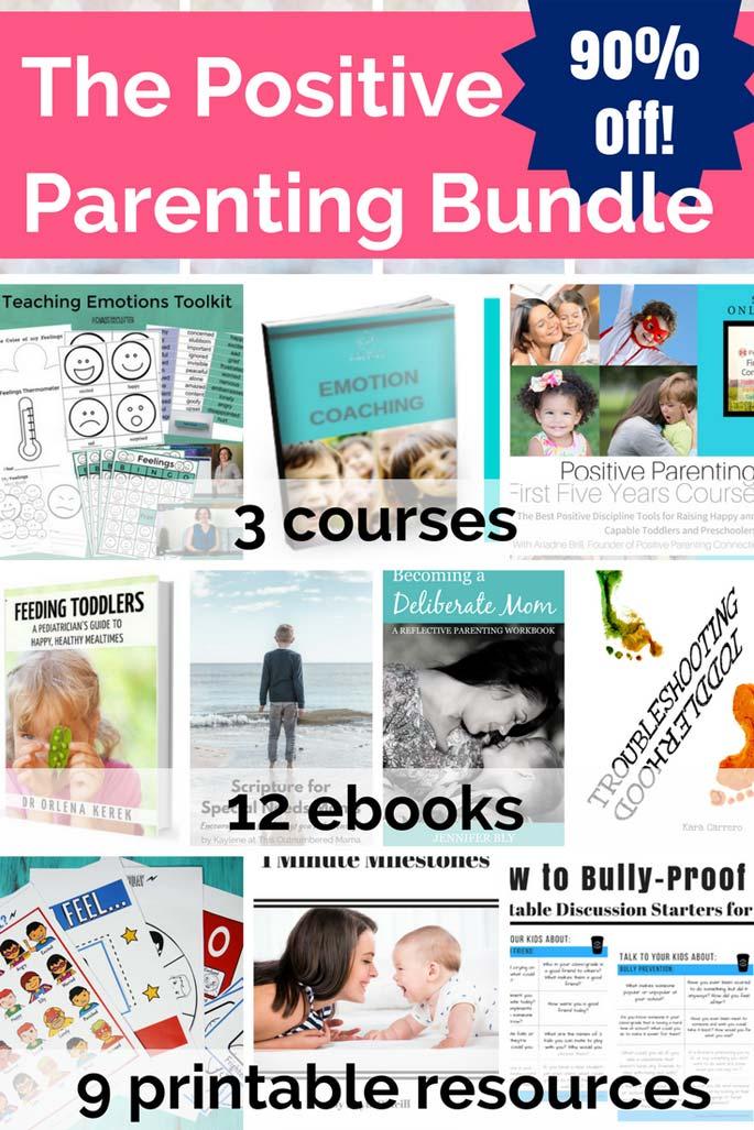 The Positive Parenting Bundle Contents