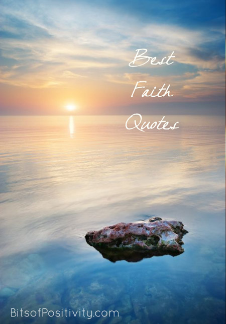 Best Faith Quotes