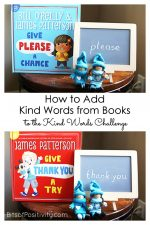How to Add Kind Words from Books to the Kind Words Challenge