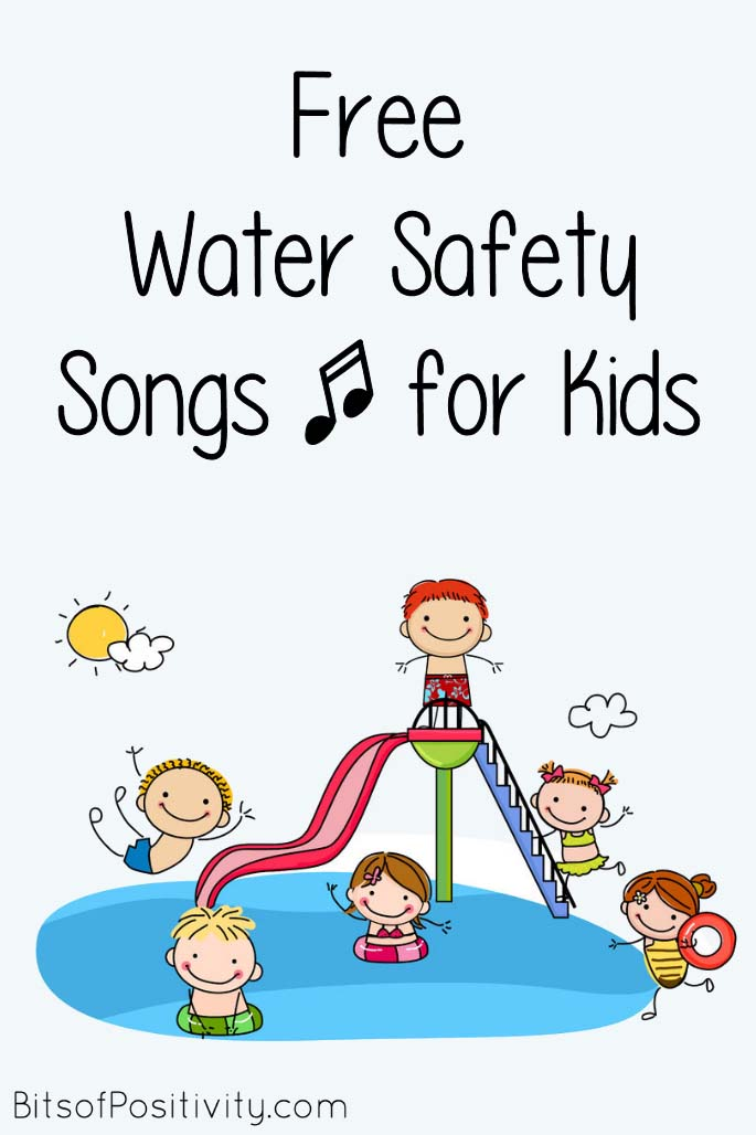 Free Water Safety Songs for Kids